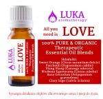 LOVE - all you need is love - LUKA aromatherapy