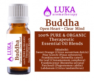 Buddha Open Heart - Clear  Mind  LUKA aromatherapy